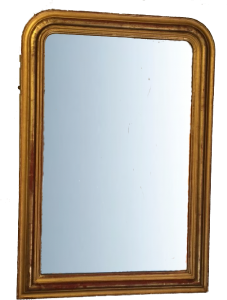 For Sale The Gilding Workshop - Original plain dressing glass, original mercury mirror and boarded back